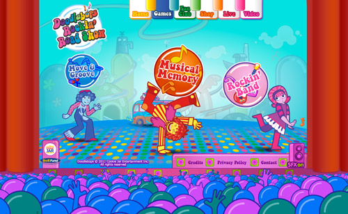 Doodlebops Interactive